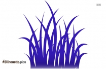Grass Silhouette Free Vector Art