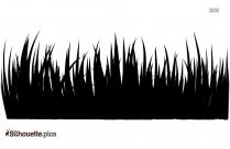 Grass Silhouette Picture, Clipart