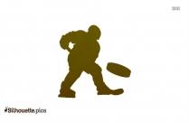 Grass Hockey Clip Art Silhouette