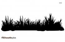 Grass Hill Clipart, Silhouette