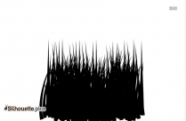 Musical Instrument Clip Art, White In Black Background