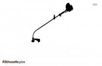 Grass Trimmer Symbol Silhouette
