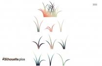 Grass Field Silhouette Image