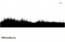 Grass Vector Silhouette Clipart