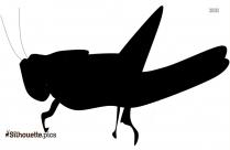Grasshopper Clipart, Silhouette