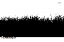 Grass Land Silhouette