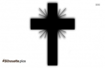 Jewish Cross Silhouette Image And Vector