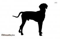 Great Dane Dog Breed Silhouette