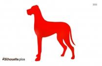 Field Spaniel Dog Silhouettes