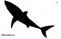 Great White Shark Clipart Silhouette