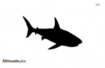 Great White Shark Remake Silhouette