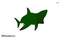 Great White Shark Clip Art Silhouette