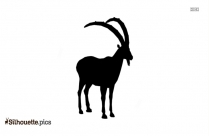 Greater Kudu Silhouette