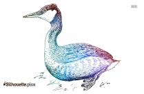 Crane Bird Silhouette Image
