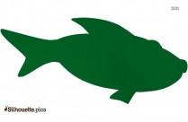 Fish Silhouette Free Vector Art