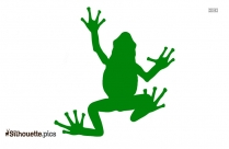 Cartoon Frog Silhouette Picture