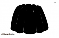 Lollipop Candy Silhouette Black