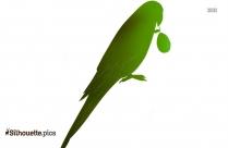 Kakapo Parrot Silhouette Drawing