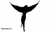 Exotic Tropical Birds Silhouette