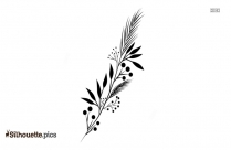 Greenery Leaf Silhouette Clipart