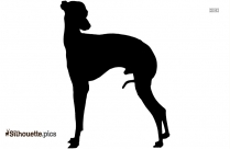 Airedale Terrier Dog Breed Silhouette