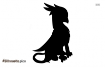 Pirate Parrot Talking Silhouette