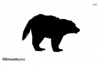 Cartoon Bear Silhouette