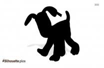 Cartoon Giraffe Silhouette
