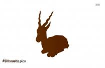 Grondahl Antelope Animal Silhouette