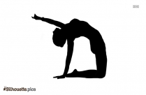 Yoga Illustration Silhouette Icon