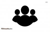 Check Icon Vector Silhouette