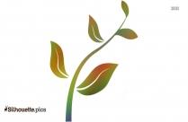 Plant Art Designs Silhouette Art