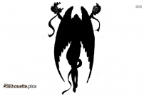 Free Cartoon Angel Silhouette