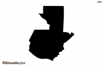 Guinea Map Black And White