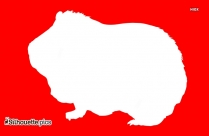 Free Cartoon Pig Silhouette