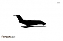 Gulfstream Silhouette Vector And Graphics