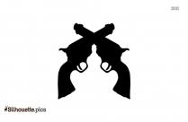 Shotguns Gun Clip Art Silhouette