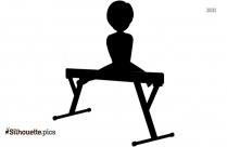 Gymnastics Person Balance Silhouette