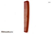Hair Comb Silhouette Image