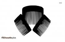 Hair Comb Silhouette Illustration