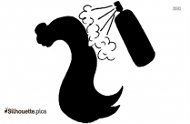 Tequila Bottle Silhouette, Clipart
