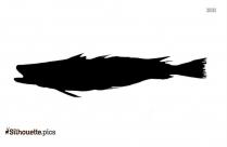 Tilapia Fish Silhouette Free Vector Art