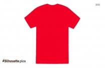 Half Sleeve T Shirt Silhouette Clipart