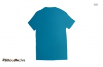 Half Sleeve T Shirt Silhouette Icon