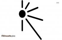 Half Sun Tattoo Silhouette