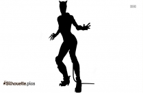 Halle Berry Catwoman Silhouette Image And Vector