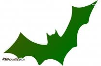 Halloween Bat Icon Silhouette