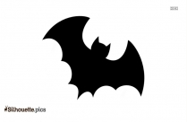 Halloween Bats Vector Silhouette