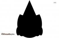 Halloween Cap Silhouette Clipart