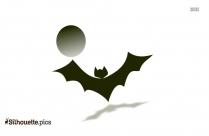 Realistic Bat Silhouette